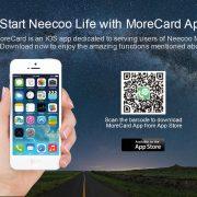 NEECOO Me 2 tragbare Mini-Doppel-SIM-Karten-Adapter