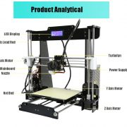 A8 Desktop 3D Printer Prusa i3