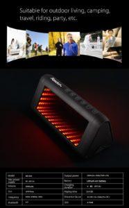 Aosder Magic Mirror Bluetooth Lautsprecher