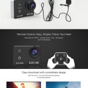 Original SJCAM SJ7 STAR WiFi 4K Sports Camera