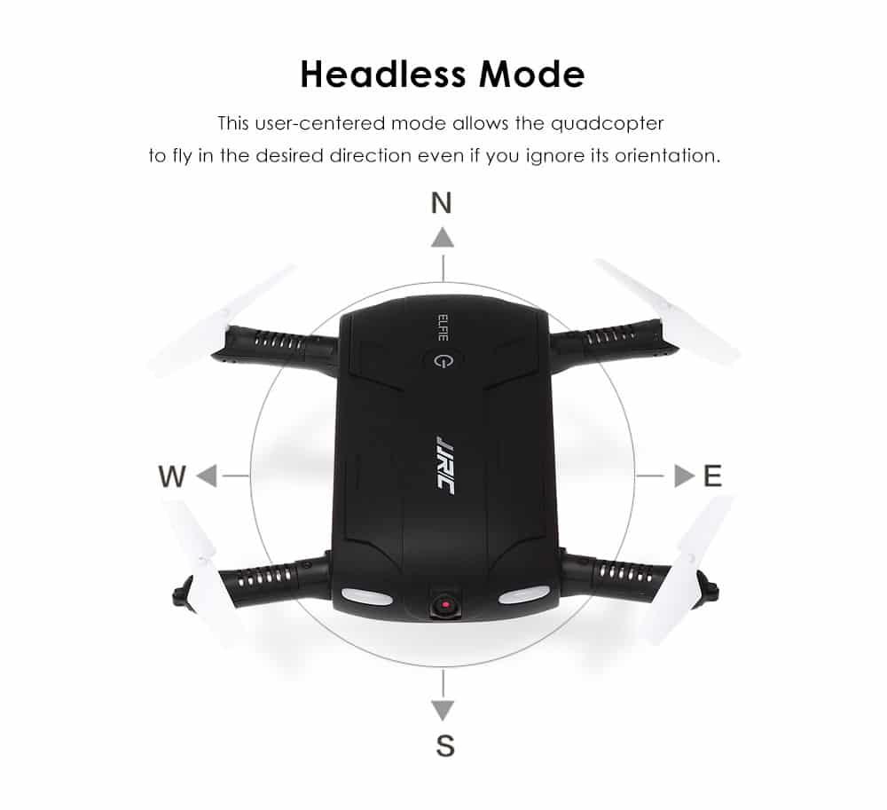 JJRC H37 ELFIE Headless Mode