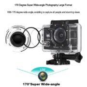 FuriBee Q6 4k@30fps, Action Cam, WLAN)