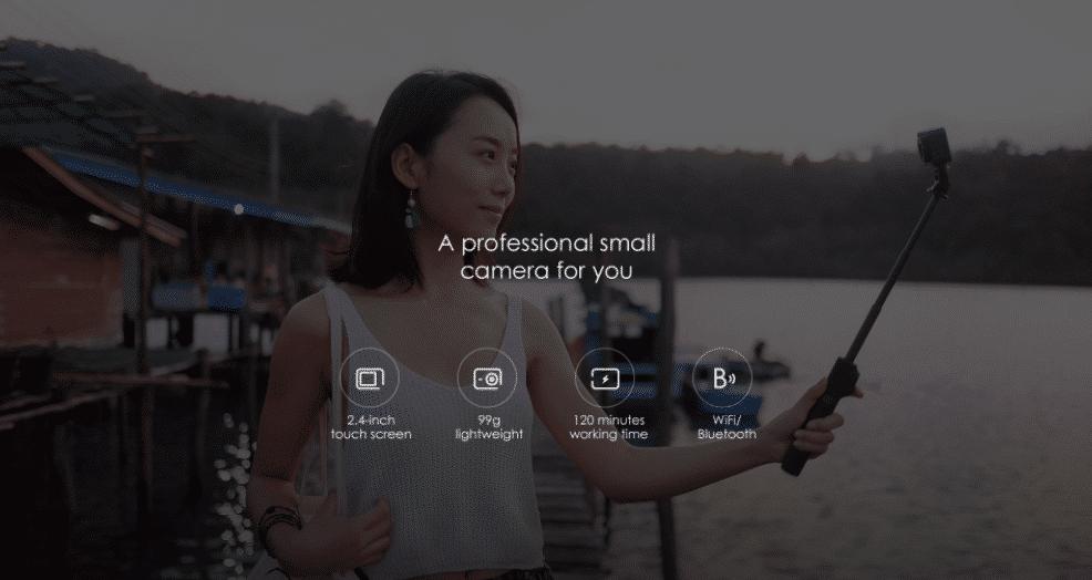 2017 09 07 15 02 57 Xiaomi Mijia Camera Mini 4K 30fps Action Camera 139.99 Online Shopping  GearBe Kopie