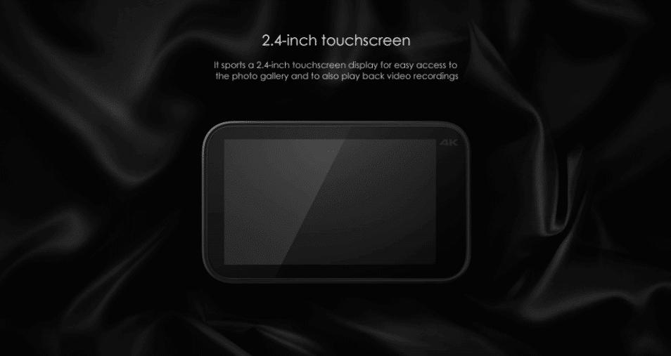 2017 09 07 15 03 24 Xiaomi Mijia Camera Mini 4K 30fps Action Camera 139.99 Online Shopping  GearBe
