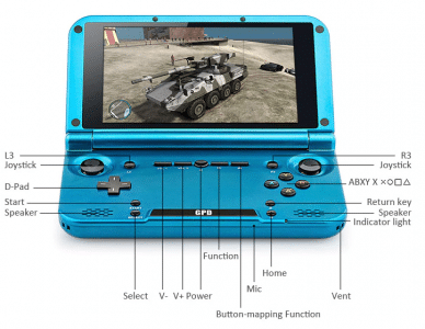 2017 11 22 16 07 07 Gpd XD Handheld Game Console 64GB ROM 169.99 Online Shopping  GearBest.com