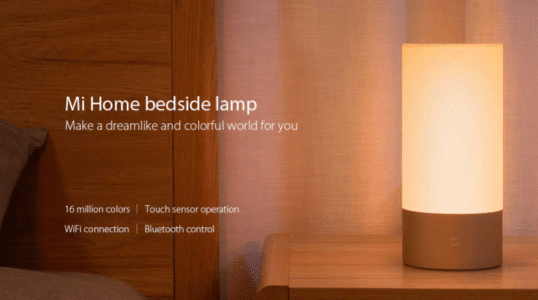 2018 02 19 15 22 38 Xiaomi Mijia Bedside Lamp Bluetooth Control WiFi Connection 61 Online Shopping