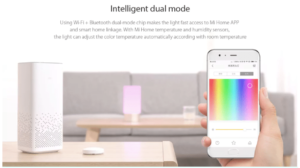 2018 02 19 15 22 44 Xiaomi Mijia Bedside Lamp Bluetooth Control WiFi Connection 61 Online Shopping
