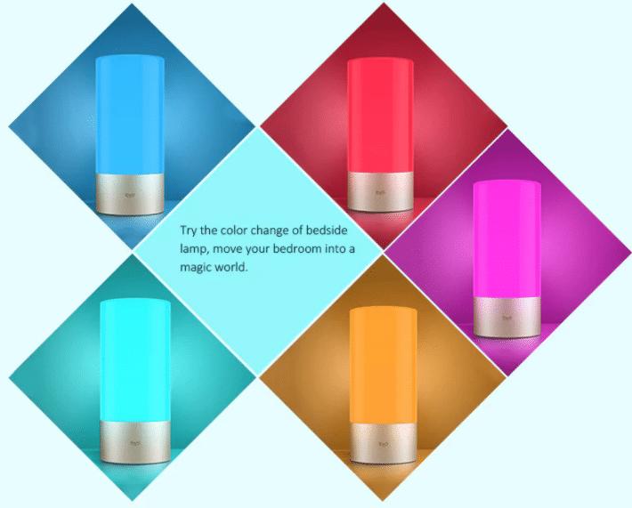 Xiaomi Mijia LED Nachttischlampe Verschiedene Farben