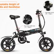 2018 06 01 10 04 10 FIIDO D1 Folding Electric Bike 7.8Ah Battery Moped Bicycle 479.99 Free Shippi