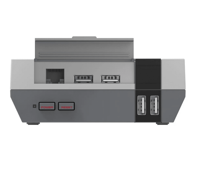 NES Classic Raspberry Pi Case Front