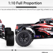 2018 09 20 10 38 53 ZD Racing 10427 S 1 10 Big Foot RC Truck RTR 129.99 Free Shipping GearBes
