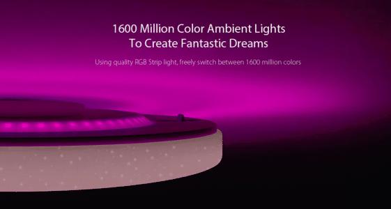 2018 10 10 15 49 12 Yeelight JIAOYUE YLXD02YL 650 Surrounding Ambient Lighting LED Ceiling Light