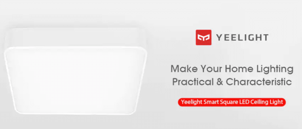 2018 10 10 15 49 44 Yeelight Smart Square LED Ceiling Light 149.99 Free Shipping GearBest.com