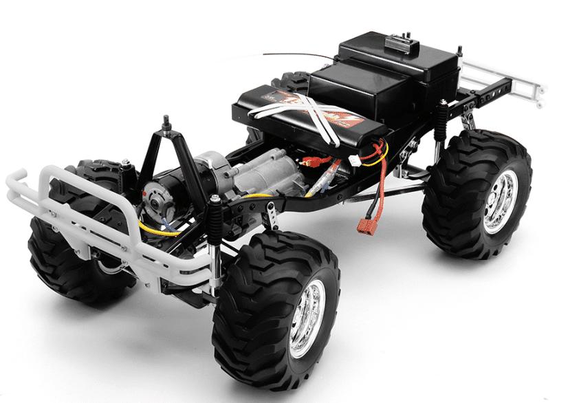 HG P407 Akku und Motor