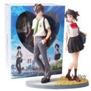 Anime Film Ihre Name Tachibana Taki Miyamizu Mitsuha PVC Action Figure Sammlung Modell Spielzeug 2 pack.jpg 640x640