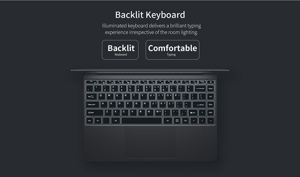 Teclast F7 Plus/S Tastaturbeleuchtung