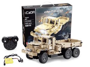2019 01 25 09 52 52 CaDA DIY Assembled Simulation Military Truck Building Block Toy 31.99 Free Sh
