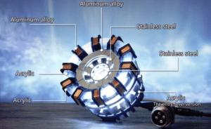 2019 01 30 16 32 24 stem illuminant arc reactor ornament lamp science toy boys gift collection Sale