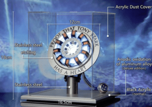 2019 01 30 16 32 30 stem illuminant arc reactor ornament lamp science toy boys gift collection Sale