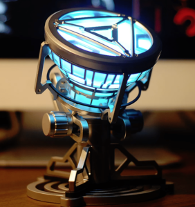 2019 04 05 09 51 28 1 1 arc reactor led chest heart light up lamp movie abc props model kit science