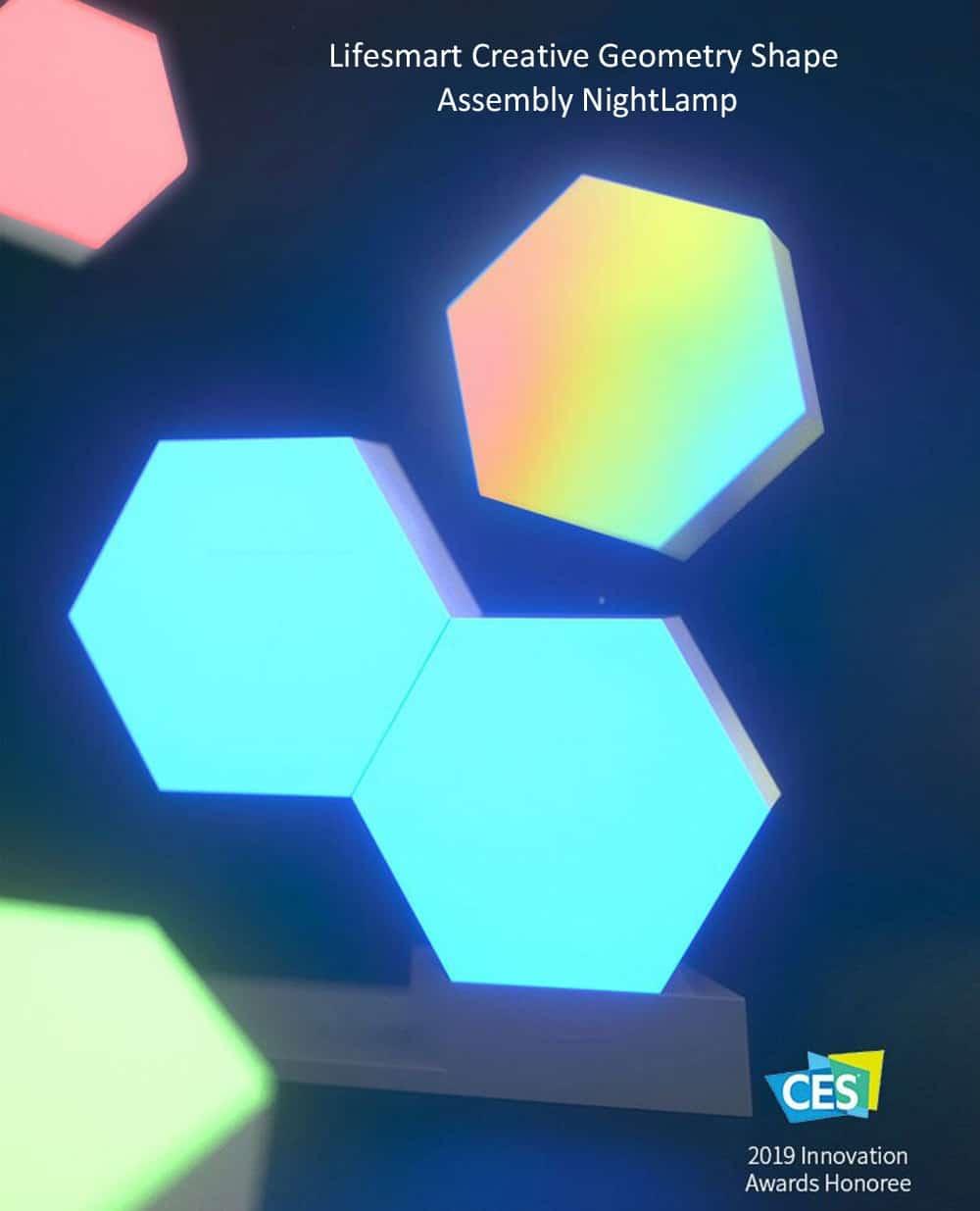 Cololight PRO Starter Set Modulare RGB-Lampe Stecksystem