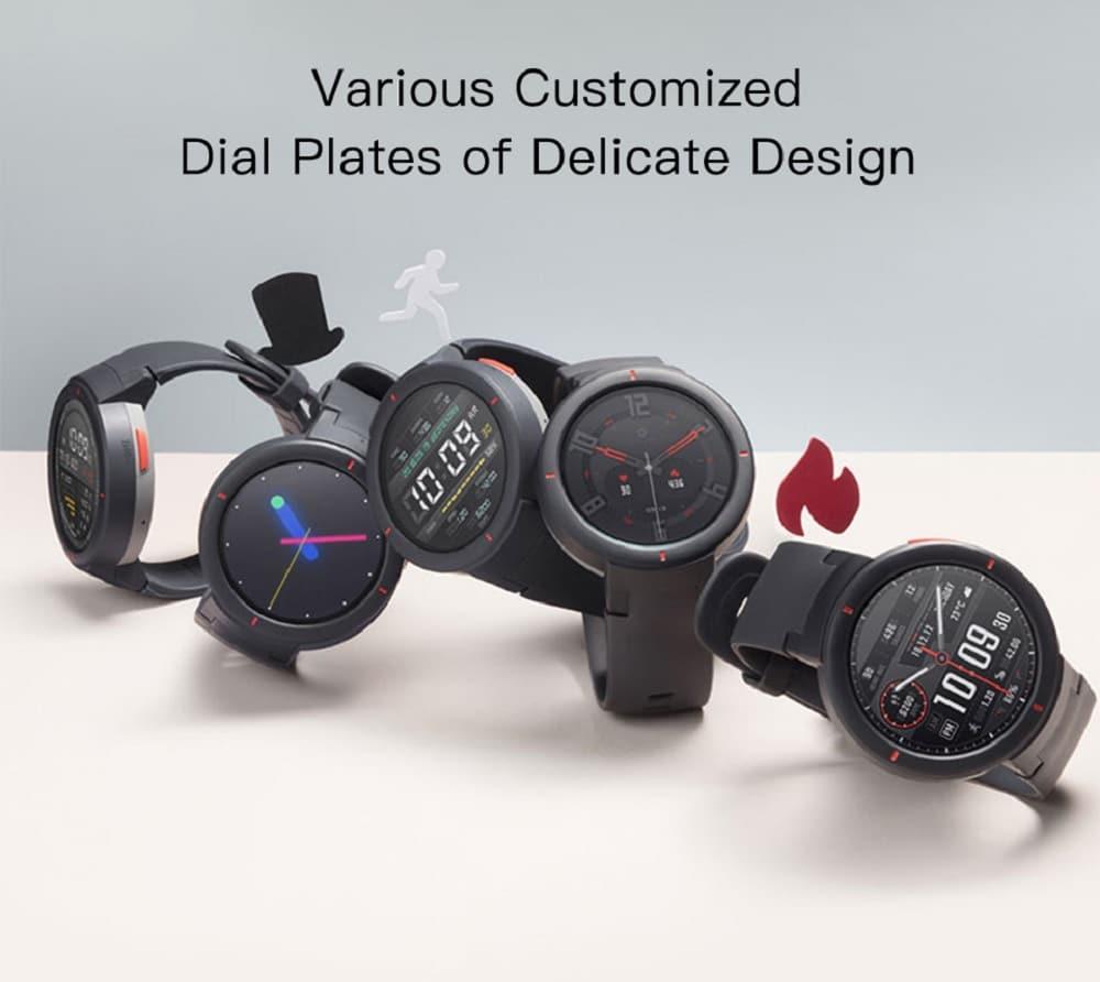Huami AMAZFIT Verge 3 Smart Watch 1 3 Inch AMOLED Screen Deep Gray 20181123134427860