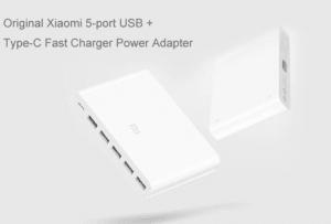 2019 02 11 14 39 24 Original Xiaomi 5 x USB A 1 x USB C 60W QC3.0 Fast Charger 29.99 Free Shippin