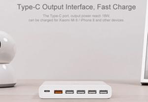 2019 02 11 14 39 36 Original Xiaomi 5 x USB A 1 x USB C 60W QC3.0 Fast Charger 29.99 Free Shippin