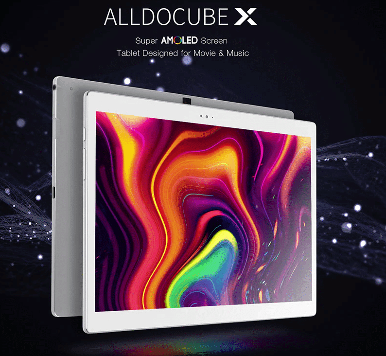 ALLDOCUBE X Neo AMOLED Screen