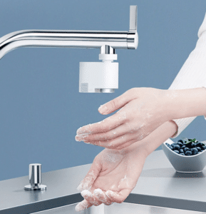 2019 02 27 10 17 46 Xiaomi Automatic Sense Infrared Induction Water Saving Device Sink Faucet for Ki