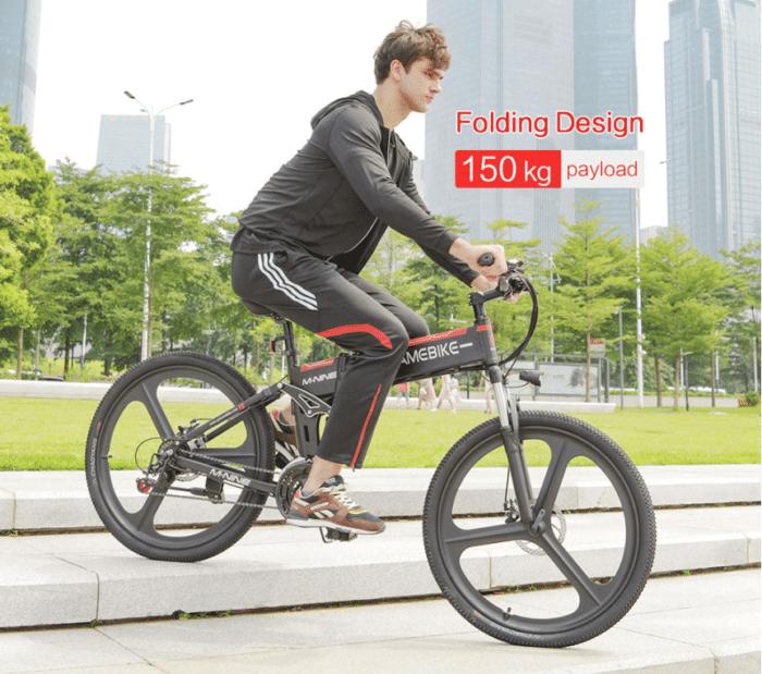 Samebike LO26 Klappbares Fahrrad mit 150 kg Traglast