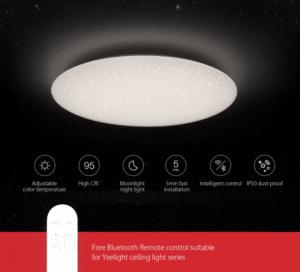 2019 12 12 13 33 30 Yeelight JIAOYUE YLXD17YL 480 LED 32W Ceiling Light Xiaomi Ecosystem Product