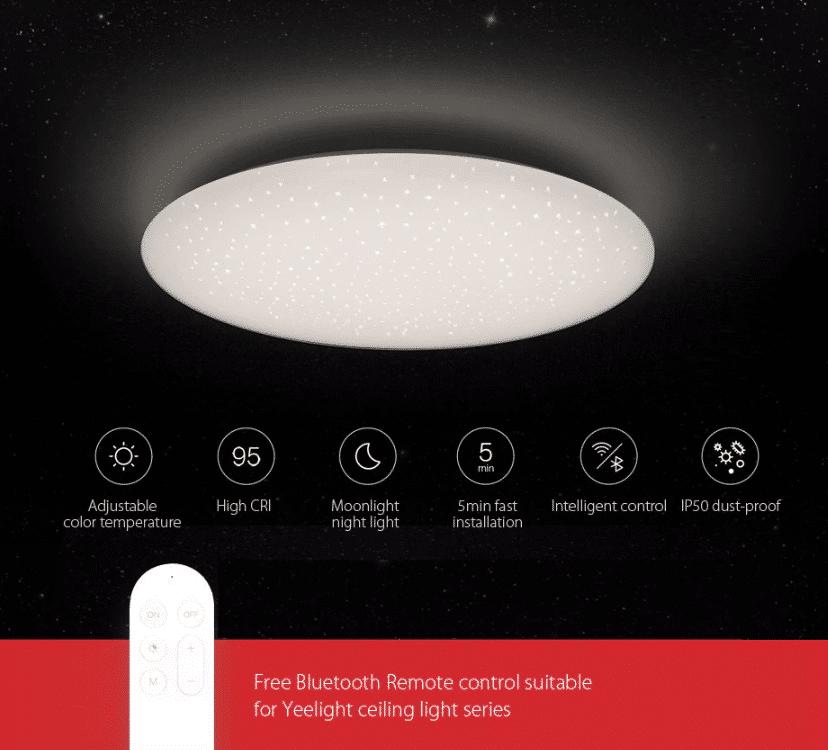 Yeelight Deckenlampe Features