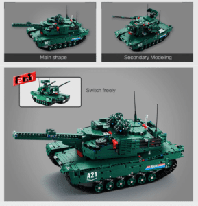2019 05 13 12 55 25 CaDA C61001W Military Series Building Assembled Tank Toys   Gearbest