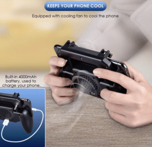 2019 05 15 14 27 02 Mobile Game Cooling Fan with 4000mAh Battery Trigger Fire Button L1R1 Controller