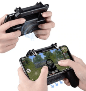 2019 05 15 14 27 36 Mobile Game Cooling Fan with 4000mAh Battery Trigger Fire Button L1R1 Controller