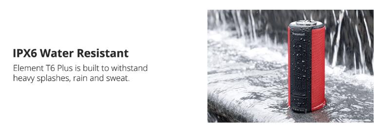 Tronsmart Element T6  IPX6 Wasserfest
