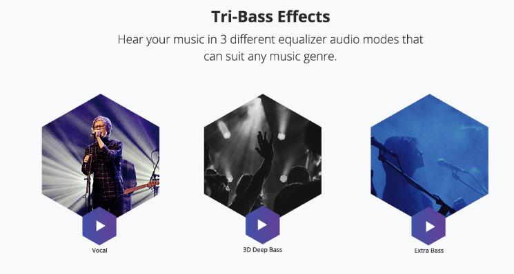 Tronsmart Element T6  3 Audio voreinstellungen