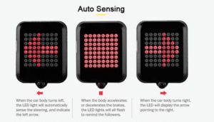 2019 05 28 11 13 24 Intelligent Bicycle Direction Indicator Light   Gearbest