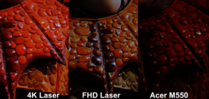 Unterschiede vom Xiaomi FHD vs 4k +Pixel Shift vs 2,7k + Pixel Shift