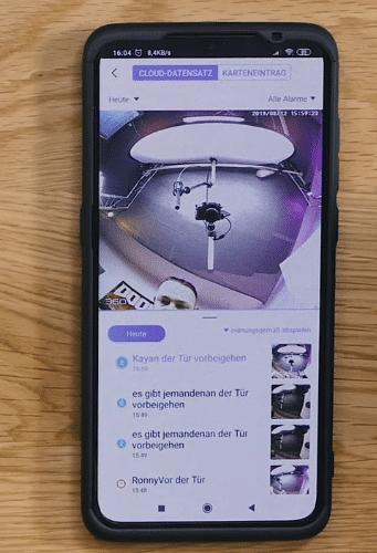 360 D819 Video Türklingel Kamera