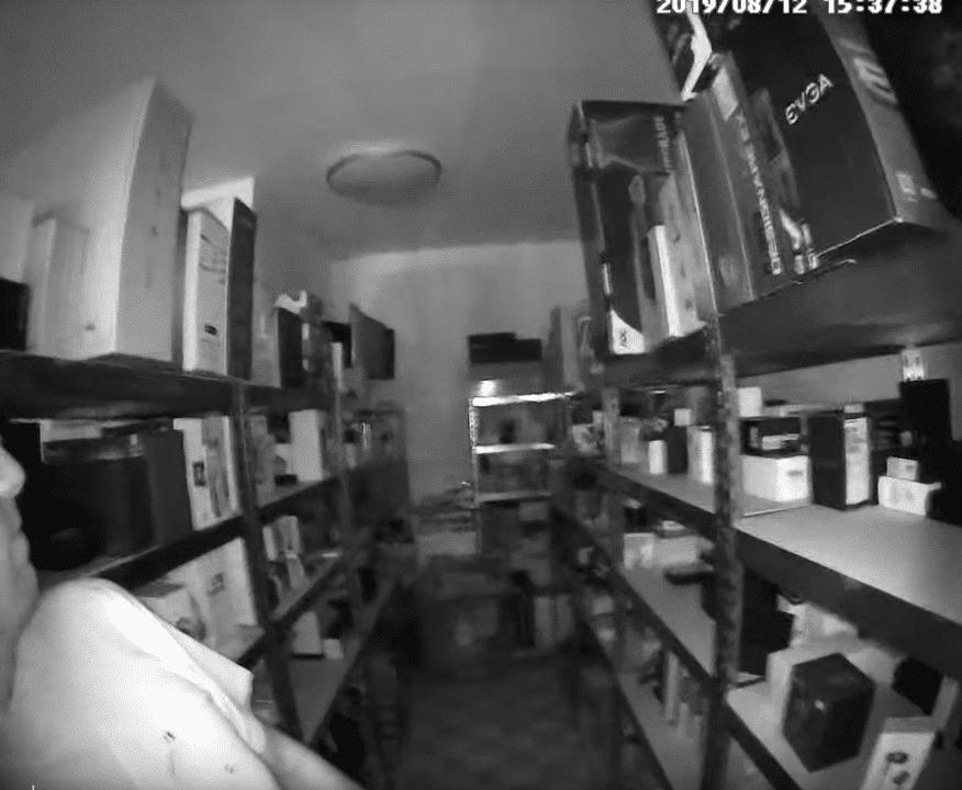 360 D819 Video Türklingel Nachtischtmodus