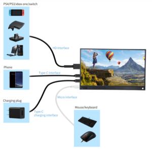 2019 08 19 13 56 26 T bao T15A Portable Monitor Black