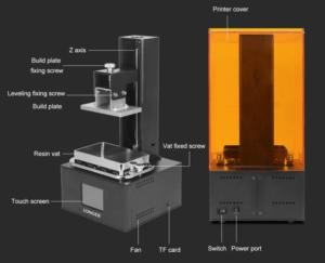 2019 09 11 14 26 19 Longer Orange 10 LCD 3D Printer resin mini SLA 3d printer Assembled UV LCD light