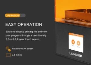 2019 09 11 14 27 30 Longer Orange 10 LCD 3D Printer resin mini SLA 3d printer Assembled UV LCD light