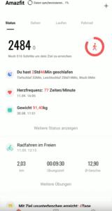 2019 09 12 10 45 28 2 Die Smartwatch des Jahres  AMAZFIT GTR YouTube