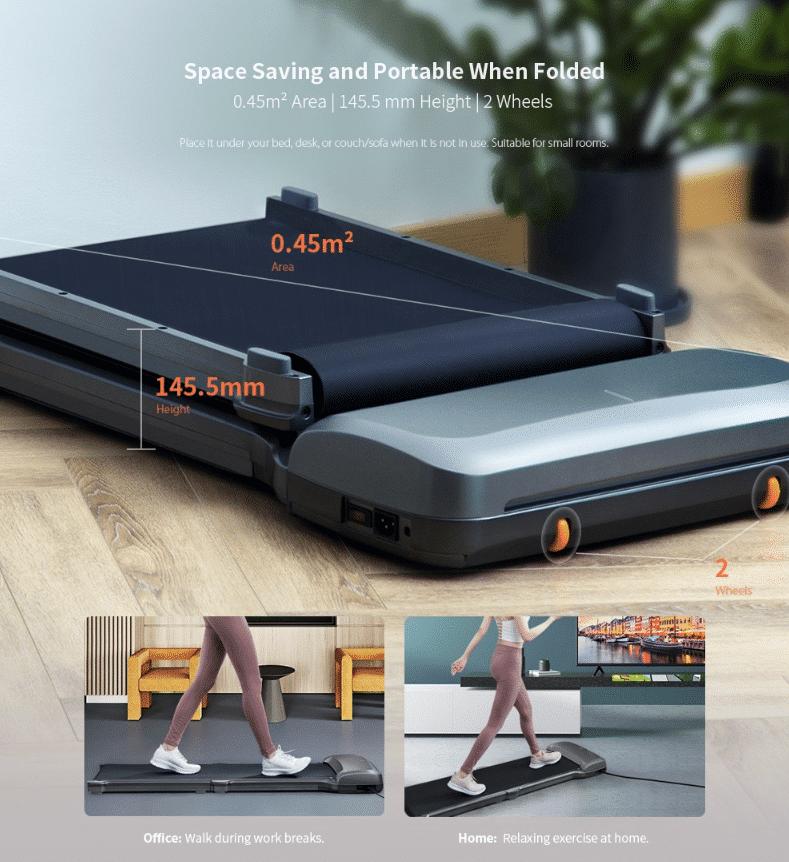 Xiaomi Laufband C1 Abmessungen zusammen gefaltet