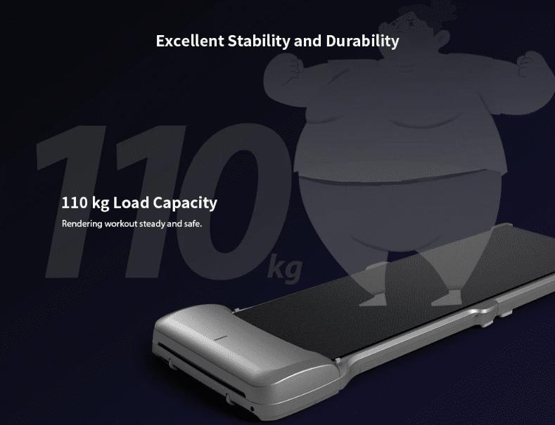 Xiaomi Laufband C1 Maximale Traglast von 110 kg