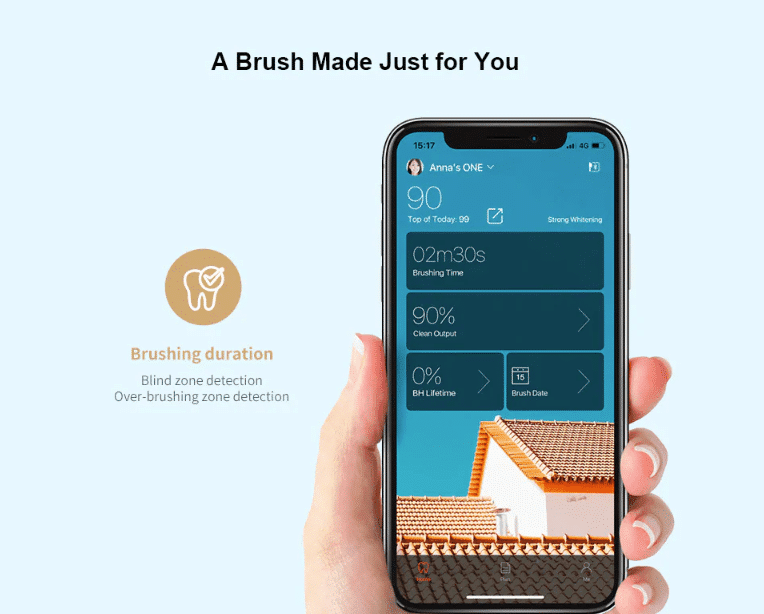 2019 09 23 14 13 16 Oclean X Smart Color Touch Screen Sonic Electric Toothbrush App Control Internat