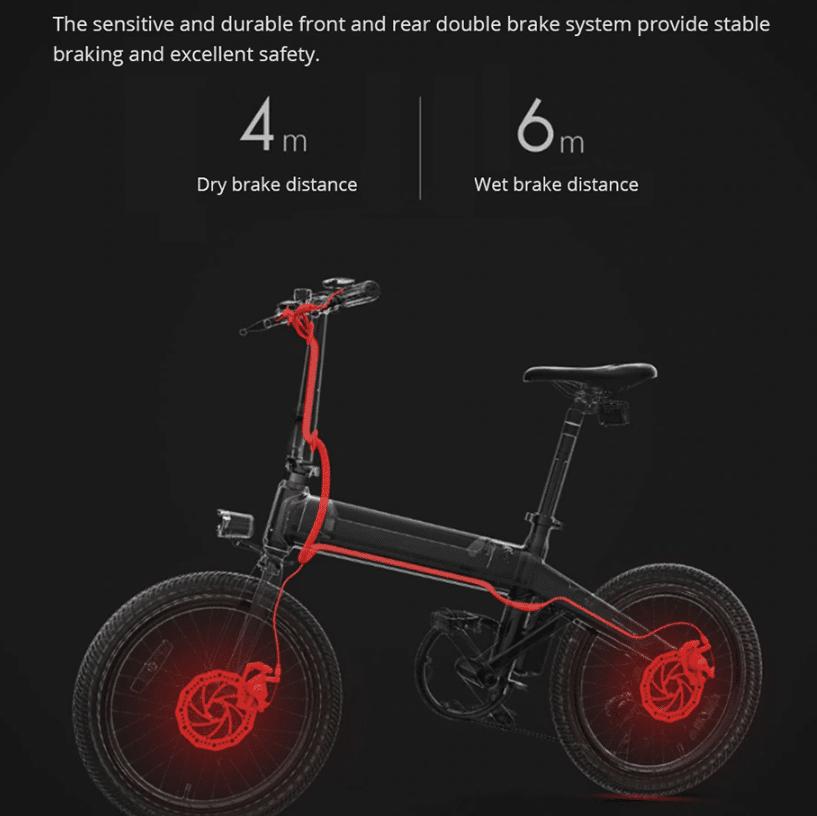 2019 09 24 09 37 27 Original Xiaomi HIMO C20 10AH Electric Moped Bicycle 25KM Per Hour 250W Motor Fo